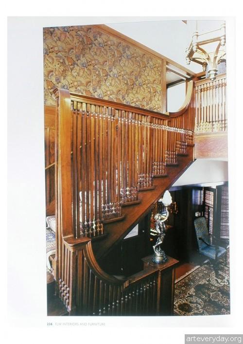 15 | Фрэнк Ллойд Райт - Frank Lloyd Wright. Интерьеры и мебель | ARTeveryday.org