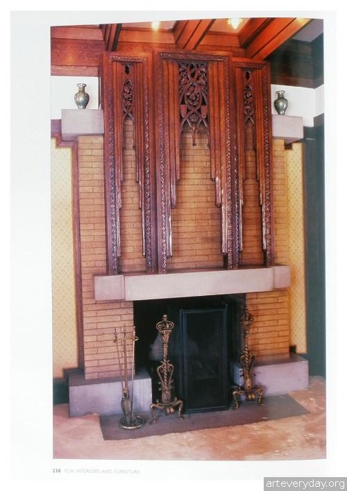 16 | Фрэнк Ллойд Райт - Frank Lloyd Wright. Интерьеры и мебель | ARTeveryday.org