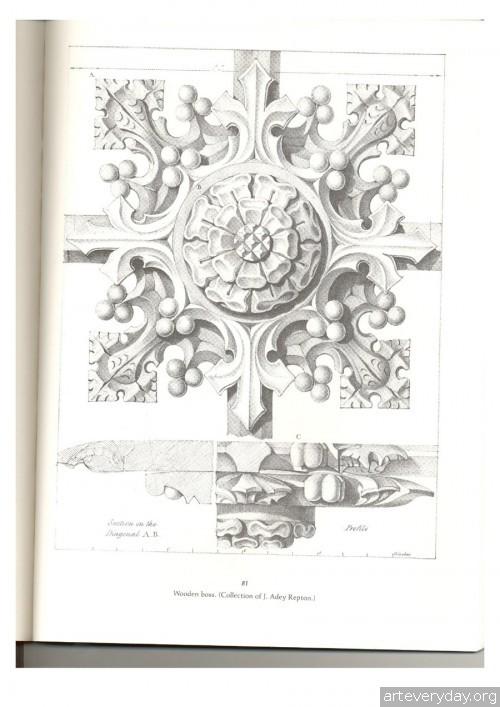 1 | Альбом архитектурных орнаментов в готическом стиле | ARTeveryday.org