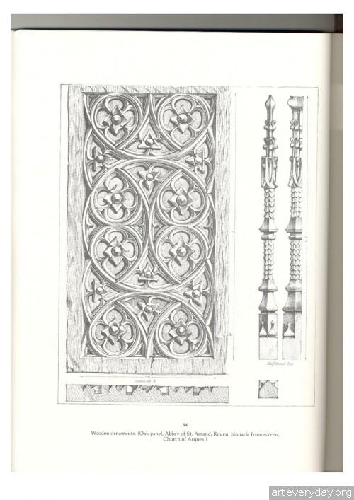 10 | Альбом архитектурных орнаментов в готическом стиле | ARTeveryday.org