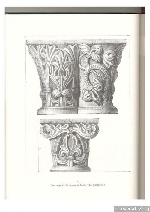 16 | Альбом архитектурных орнаментов в готическом стиле | ARTeveryday.org