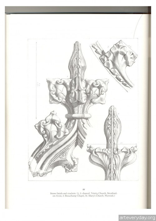 18 | Альбом архитектурных орнаментов в готическом стиле | ARTeveryday.org