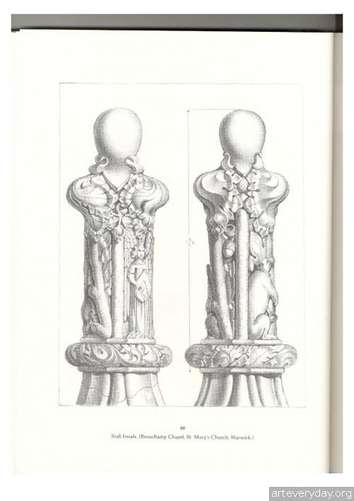 20 | Альбом архитектурных орнаментов в готическом стиле | ARTeveryday.org