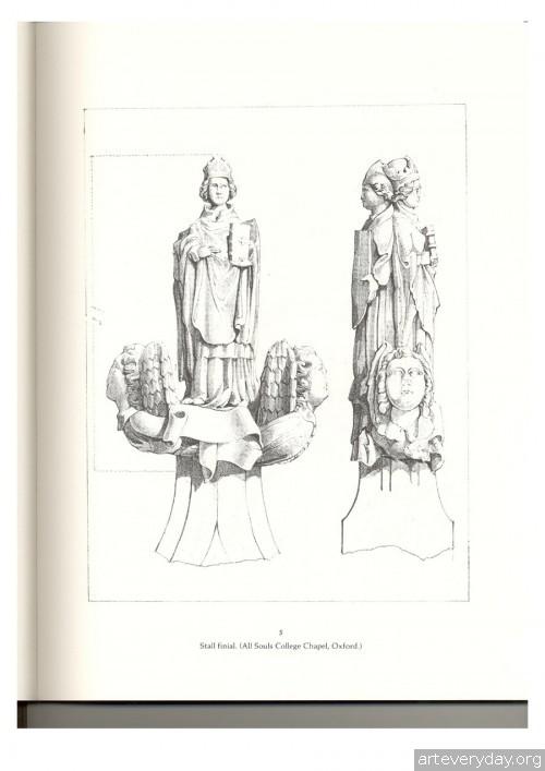 3 | Альбом архитектурных орнаментов в готическом стиле | ARTeveryday.org
