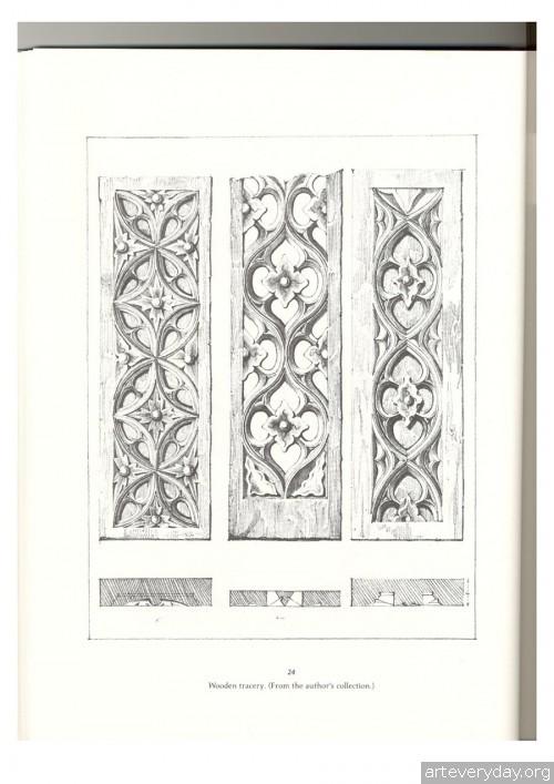 6 | Альбом архитектурных орнаментов в готическом стиле | ARTeveryday.org