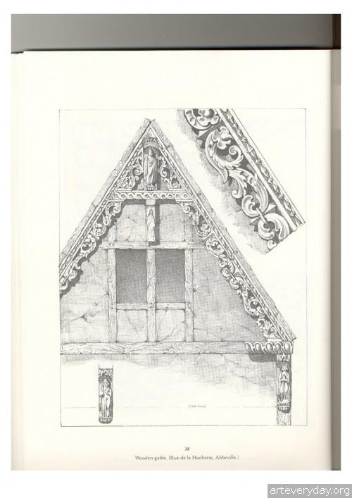 7 | Альбом архитектурных орнаментов в готическом стиле | ARTeveryday.org