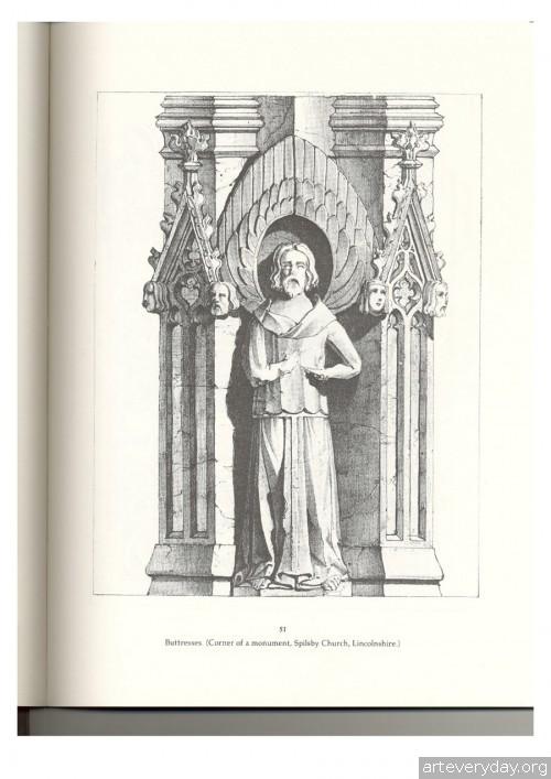 9 | Альбом архитектурных орнаментов в готическом стиле | ARTeveryday.org
