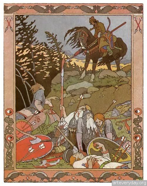 11 | Иван Яковлевич Билибин. Выдающейся художник-иллюстратор | ARTeveryday.org