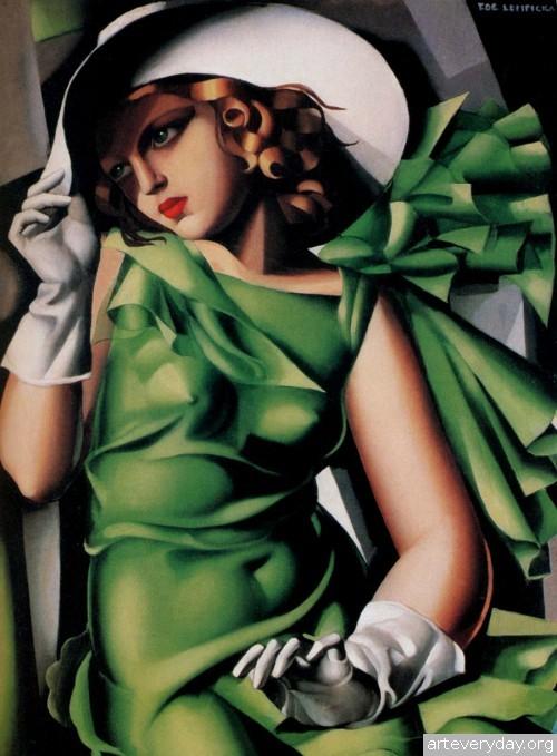 1 | Tamara De Lempicka - Тамара де Лемпика. Живопись в стиле Арт Деко | ARTeveryday.org