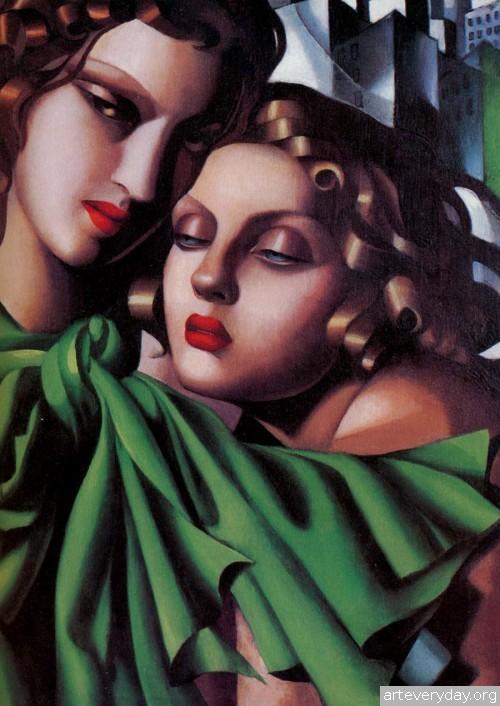 11 | Tamara De Lempicka - Тамара де Лемпика. Живопись в стиле Арт Деко | ARTeveryday.org