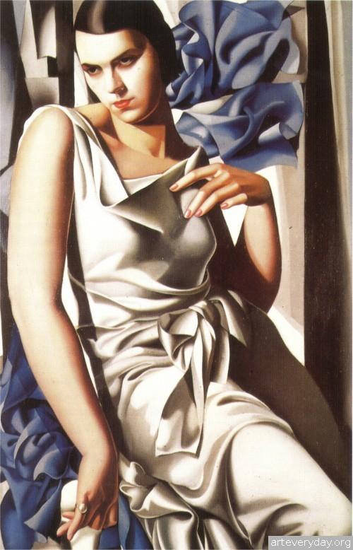 14 | Tamara De Lempicka - Тамара де Лемпика. Живопись в стиле Арт Деко | ARTeveryday.org