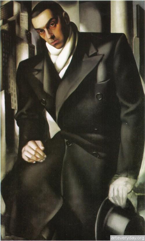 15 | Tamara De Lempicka - Тамара де Лемпика. Живопись в стиле Арт Деко | ARTeveryday.org