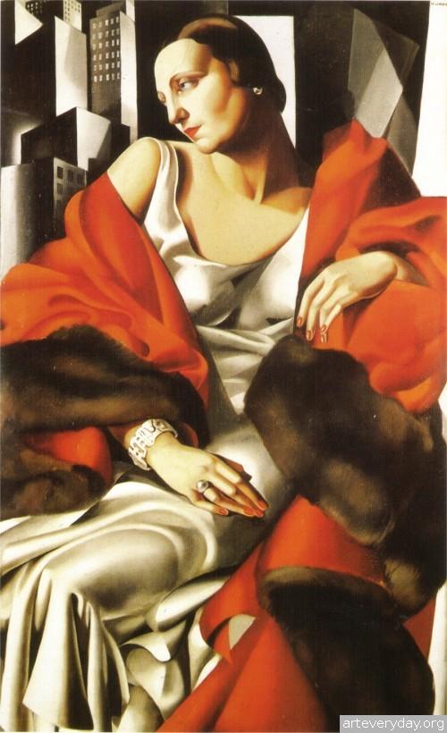 17 | Tamara De Lempicka - Тамара де Лемпика. Живопись в стиле Арт Деко | ARTeveryday.org