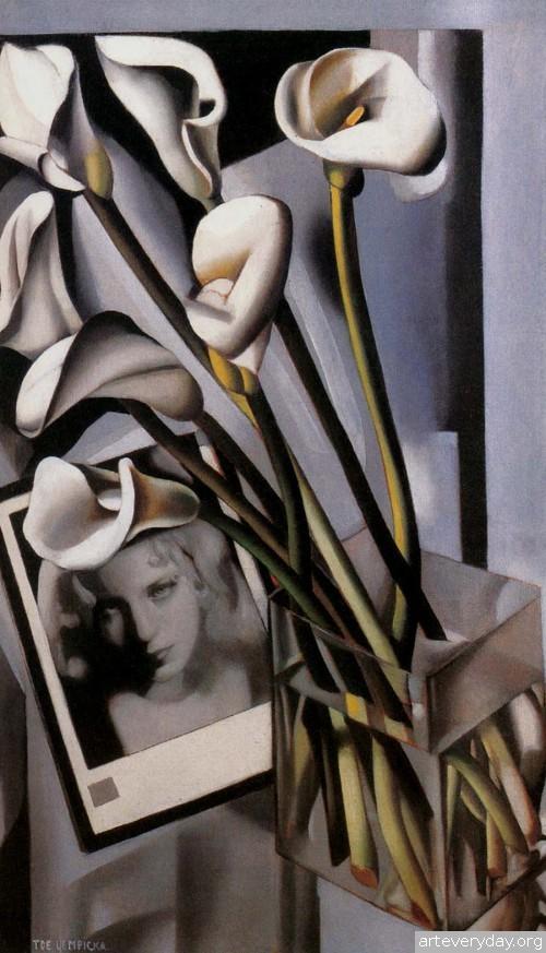 21 | Tamara De Lempicka - Тамара де Лемпика. Живопись в стиле Арт Деко | ARTeveryday.org