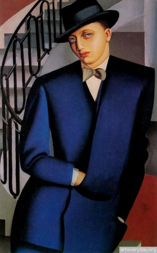 4 | Tamara De Lempicka - Тамара де Лемпика. Живопись в стиле Арт Деко | ARTeveryday.org