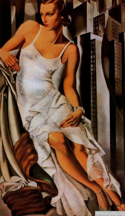 7 | Tamara De Lempicka - Тамара де Лемпика. Живопись в стиле Арт Деко | ARTeveryday.org