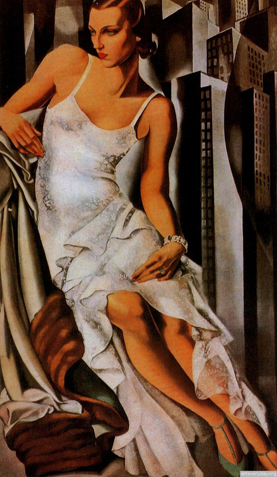 tamara de lempicka on pinterest american art art deco. Black Bedroom Furniture Sets. Home Design Ideas