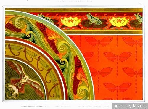 4 | Оrnaments abstraits. Декоративное панно в стиле Арт Нуво | ARTeveryday.org