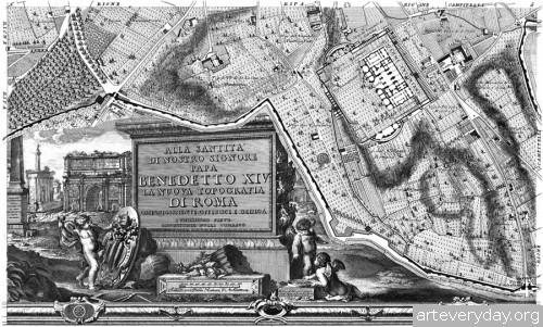 Pianta_di_Roma_12 | Giovanni Battista Nolli - Джованни Баттиста Нолли. Карта Рима 1784 года | ARTeveryday.org