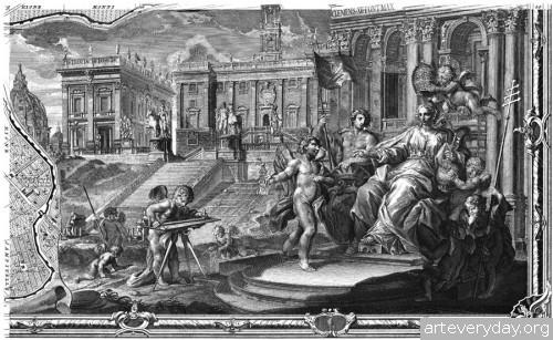 Pianta_di_Roma_13 | Giovanni Battista Nolli - Джованни Баттиста Нолли. Карта Рима 1784 года | ARTeveryday.org