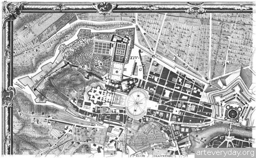 Pianta_di_Roma_2 | Giovanni Battista Nolli - Джованни Баттиста Нолли. Карта Рима 1784 года | ARTeveryday.org