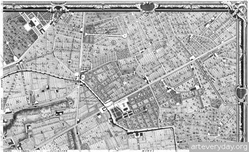 Pianta_di_Roma_4 | Giovanni Battista Nolli - Джованни Баттиста Нолли. Карта Рима 1784 года | ARTeveryday.org
