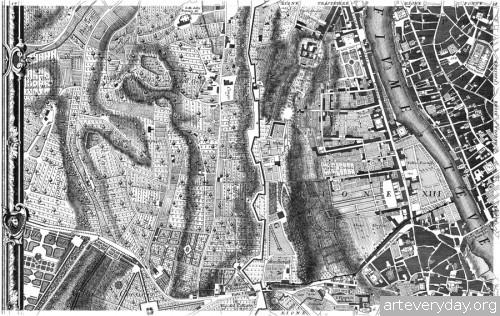 Pianta_di_Roma_5 | Giovanni Battista Nolli - Джованни Баттиста Нолли. Карта Рима 1784 года | ARTeveryday.org