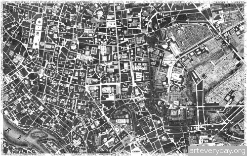 Pianta_di_Roma_6 | Giovanni Battista Nolli - Джованни Баттиста Нолли. Карта Рима 1784 года | ARTeveryday.org