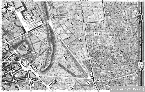 Pianta_di_Roma_7 | Giovanni Battista Nolli - Джованни Баттиста Нолли. Карта Рима 1784 года | ARTeveryday.org