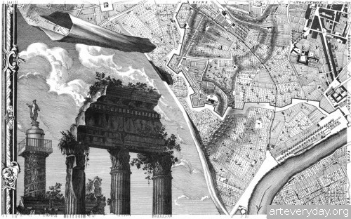 Pianta_di_Roma_8 | Giovanni Battista Nolli - Джованни Баттиста Нолли. Карта Рима 1784 года | ARTeveryday.org