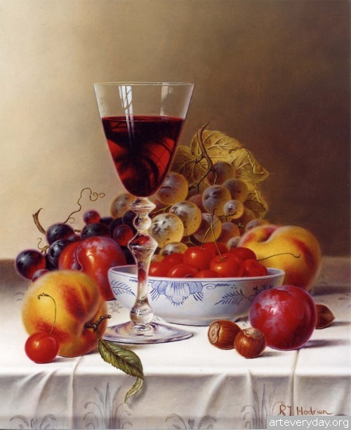 Roy Hodrien_2 | Roy Hodrien - Рой Ходриен. Натюрморт | ARTeveryday.org