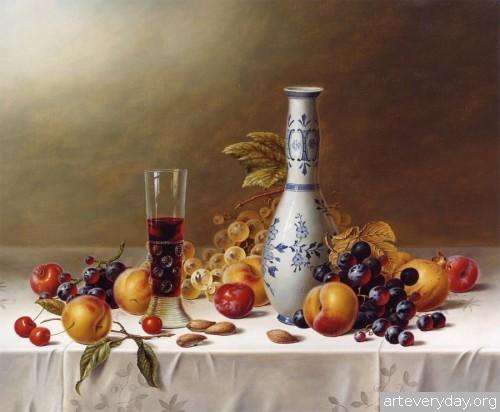 Roy Hodrien_5 | Roy Hodrien - Рой Ходриен. Натюрморт | ARTeveryday.org