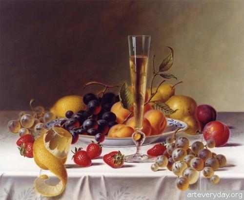 Roy Hodrien_9 | Roy Hodrien - Рой Ходриен. Натюрморт | ARTeveryday.org