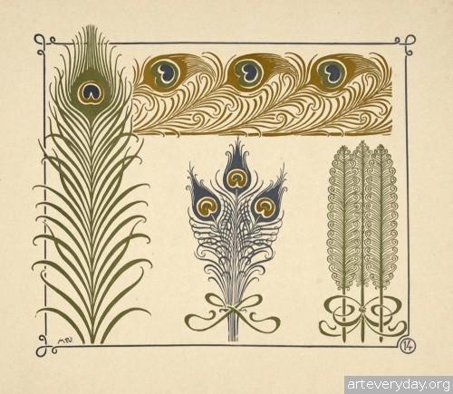 5 | Combinaisons ornementales - Альбом орнаментов в стиле Арт Нуво | ARTeveryday.org