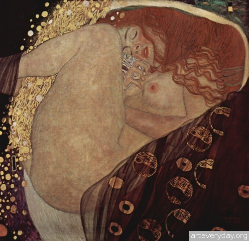 10 | Густав Климт - Gustav Klimt. Основоположник модерна в австрийской живописи | ARTeveryday.org