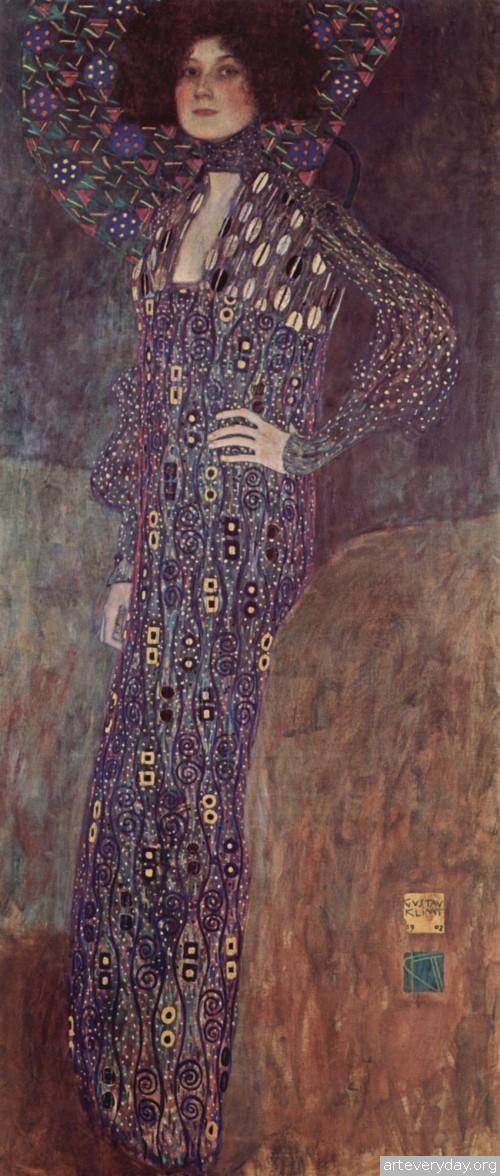 4 | Густав Климт - Gustav Klimt. Основоположник модерна в австрийской живописи | ARTeveryday.org