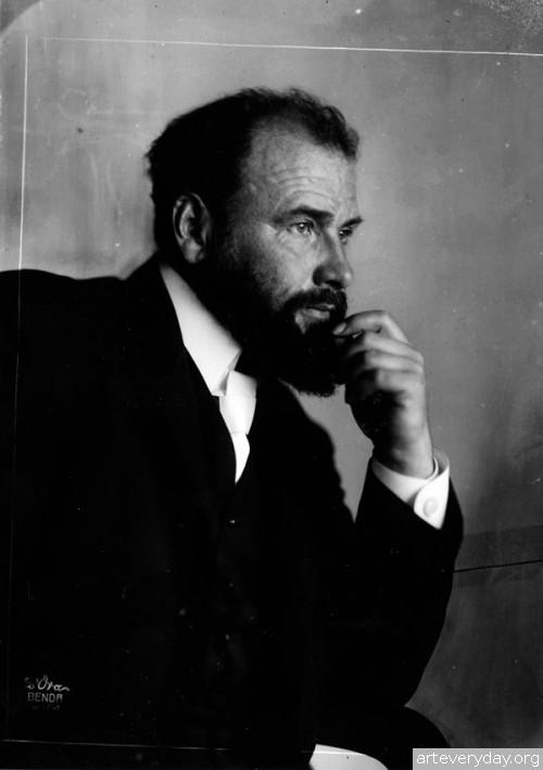 A | Густав Климт - Gustav Klimt. Основоположник модерна в австрийской живописи | ARTeveryday.org