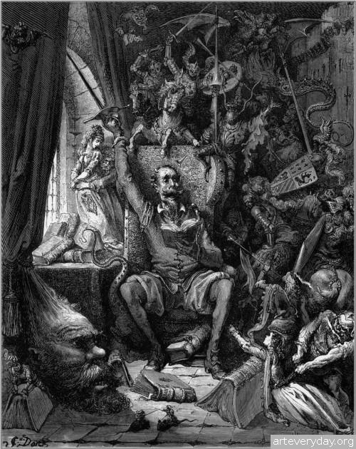 1 | Поль Гюстав Доре - Paul Gustave Dore. Мастер книжной иллюстрации | ARTeveryday.org