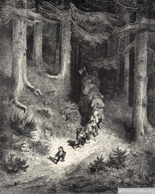 29 | Поль Гюстав Доре - Paul Gustave Dore. Мастер книжной иллюстрации | ARTeveryday.org