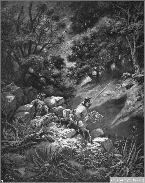 38 | Поль Гюстав Доре - Paul Gustave Dore. Мастер книжной иллюстрации | ARTeveryday.org