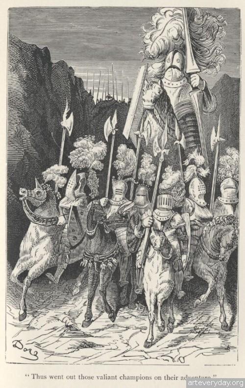 4 | Поль Гюстав Доре - Paul Gustave Dore. Мастер книжной иллюстрации | ARTeveryday.org