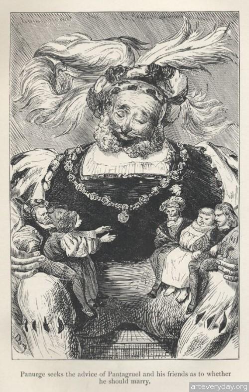 5 | Поль Гюстав Доре - Paul Gustave Dore. Мастер книжной иллюстрации | ARTeveryday.org