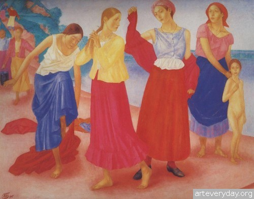 11 | Петров-Водкин Кузьма Сергеевич. Российский и советский живописец-символист | ARTeveryday.org