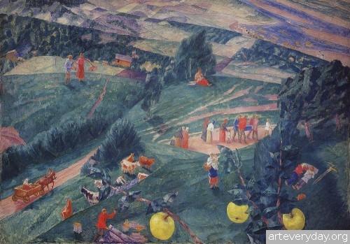 13 | Петров-Водкин Кузьма Сергеевич. Российский и советский живописец-символист | ARTeveryday.org