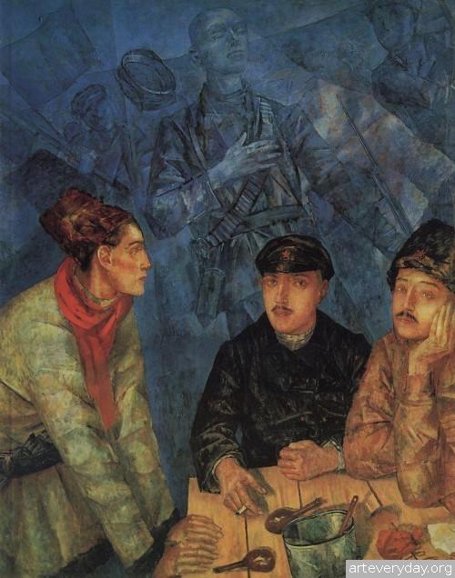 16 | Петров-Водкин Кузьма Сергеевич. Российский и советский живописец-символист | ARTeveryday.org