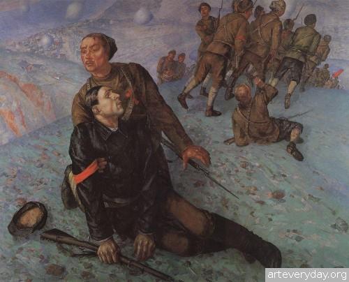 17 | Петров-Водкин Кузьма Сергеевич. Российский и советский живописец-символист | ARTeveryday.org