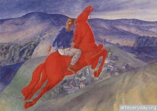 22 | Петров-Водкин Кузьма Сергеевич. Российский и советский живописец-символист | ARTeveryday.org