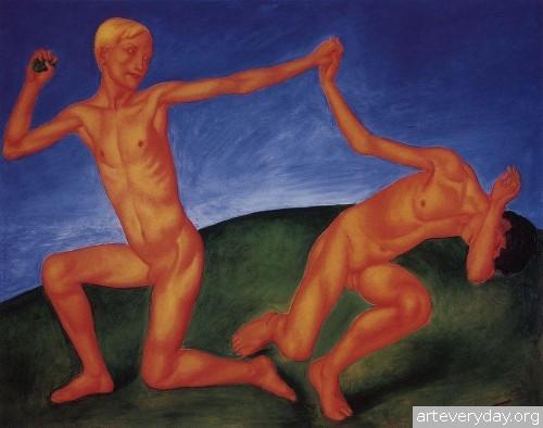 7 | Петров-Водкин Кузьма Сергеевич. Российский и советский живописец-символист | ARTeveryday.org