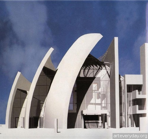 40 | Richard Meier - Ричард Мейер. Ведущий представитель американского авангарда | ARTeveyday.org