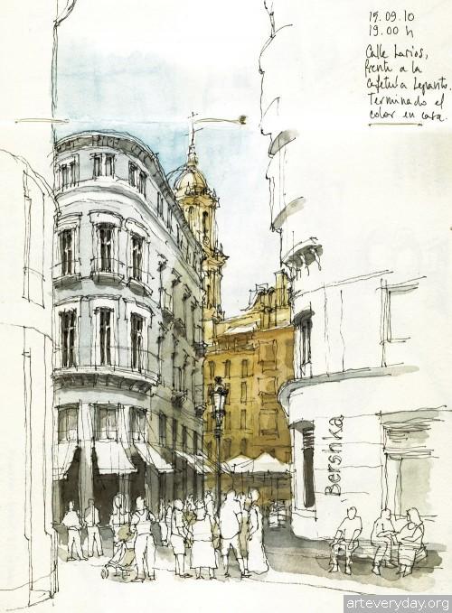 2 | Архитектурные зарисовки | ARTeveryday.org